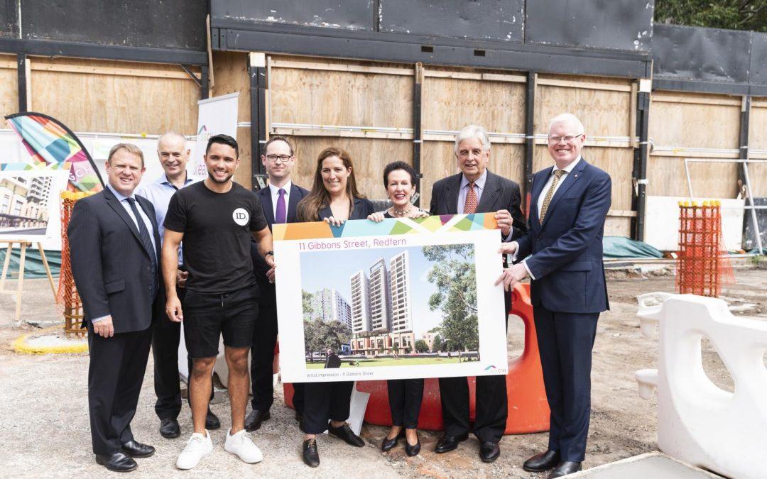 Construction starts at Gibbons Street, Redfern