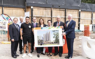 Construction starts at Gibbons Street, Redfern