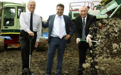 Ceremonious turning of the soil to kick off Petersham RSL